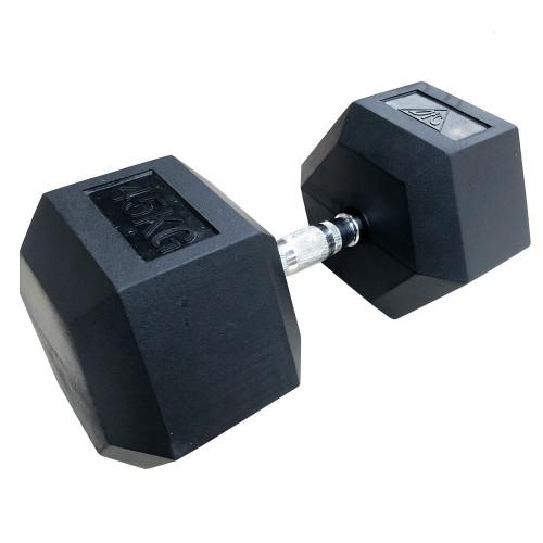 Гантели DFC гексаг.обрез. 45кг (пара) DB001-45